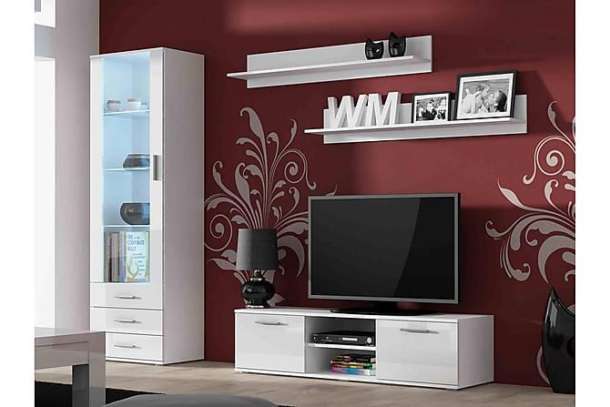 TV-möbelset Soho - Vit - Möbler - TV- & Mediamöbler - TV-möbelset