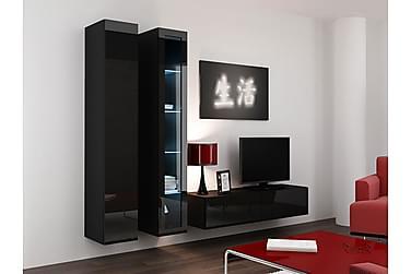 TV-möbelset Vigo 220x40x180 cm