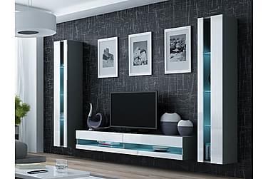 TV-möbelset Vigo 260x40x180 cm