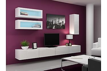TV-möbelset Vigo 280x40x180 cm