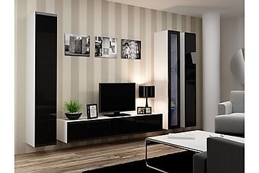 TV-möbelset Vigo 300x40x180 cm