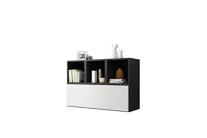 Vardagsrumsset Roco - Grå|Vit - Möbler - TV- & Mediamöbler - TV-möbelset