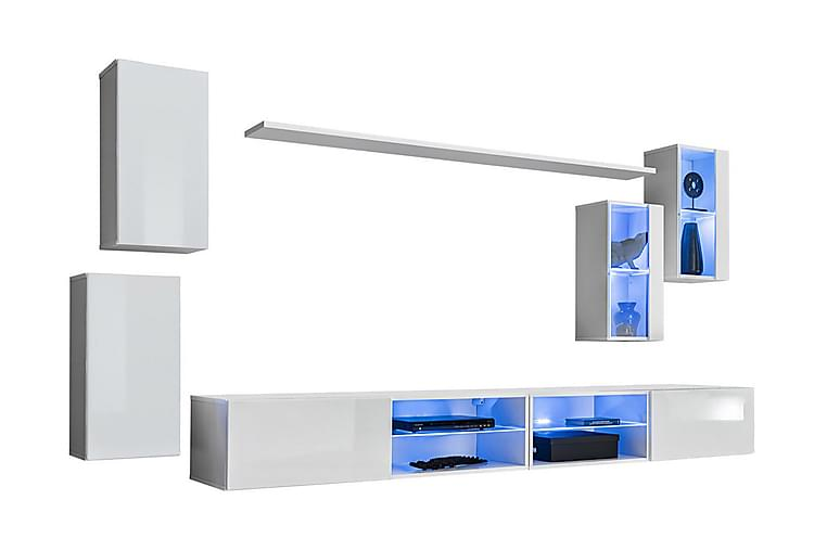 Vidara TV-möbelset + LED - Möbler - TV- & Mediamöbler - TV-möbelset