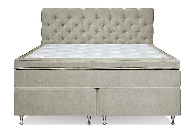 Komplett Sängpaket Paraiso Kontinentalsäng 160x200 - Beige - Möbler - Sängar - Dubbelsängar