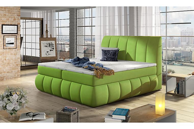 Ramsäng Borela 180x200 cm - Grön - Möbler - Sängar - Dubbelsängar