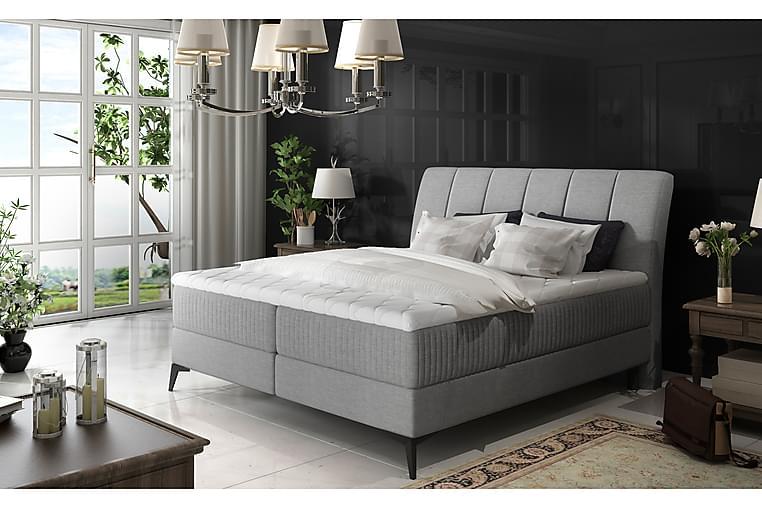 Ramsäng Darnelle 160x200 cm - Grå - Möbler - Sängar - Dubbelsängar