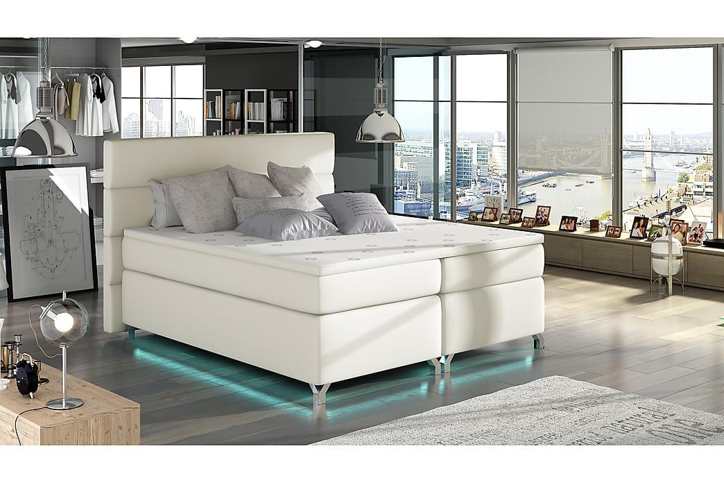 Ramsäng Lolloz 160x200 cm - Beige - Möbler - Sängar - Dubbelsängar