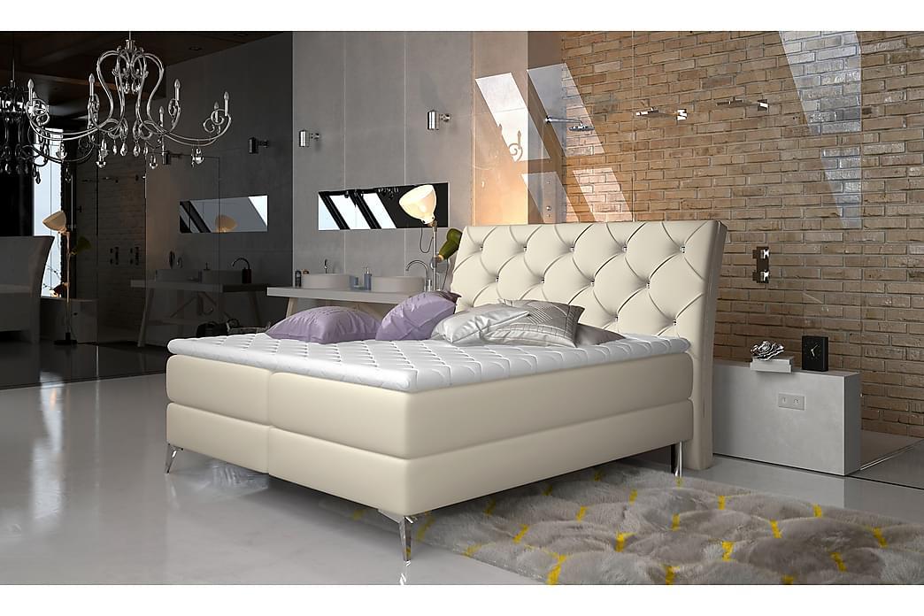 Ramsäng Paulene 160x200 cm - Beige - Möbler - Sängar - Dubbelsängar