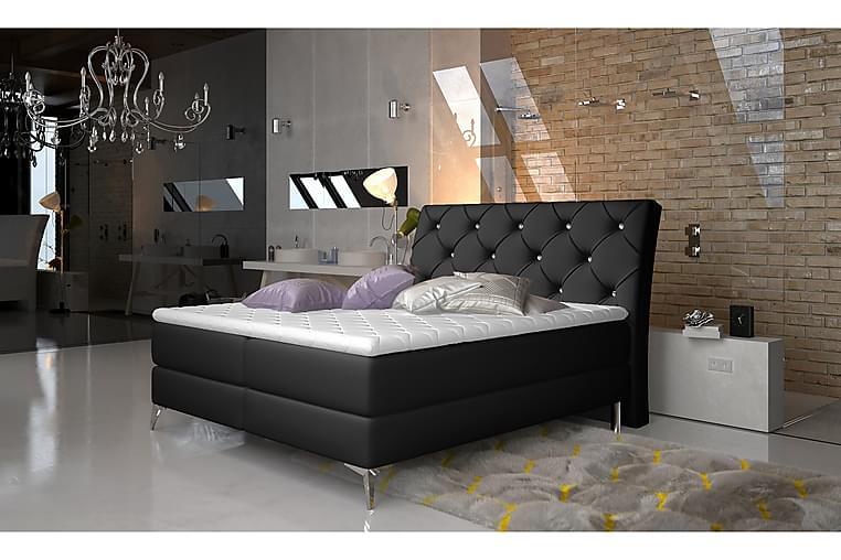 Ramsäng Paulene 160x200 cm - Svart - Möbler - Sängar - Dubbelsängar