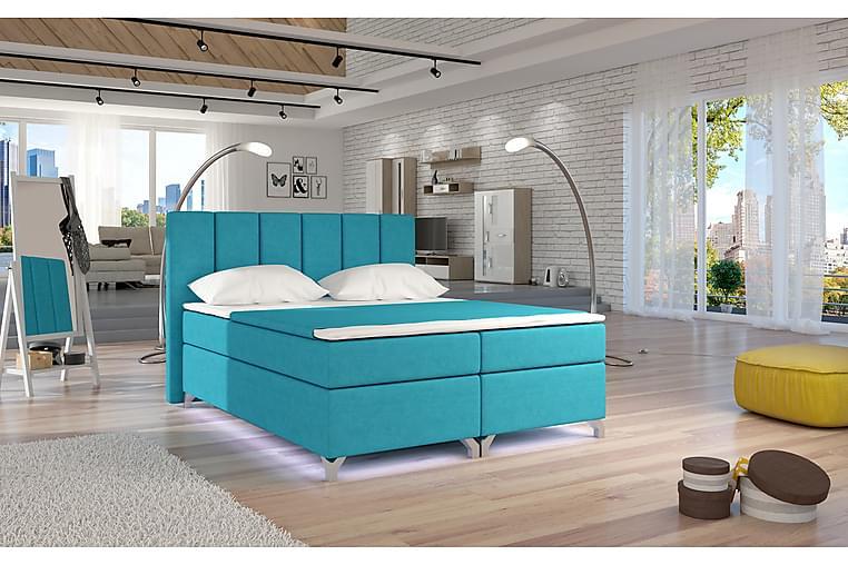 Ramsäng Soranda 180x200 cm - Blå - Möbler - Sängar - Dubbelsängar