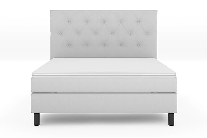 Komplett Sängpaket Bergen Lyx 180x200 - Grå|Svart - Möbler - Sängar - Komplett sängpaket