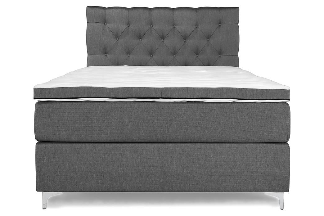 Komplett Sängpaket Relax Lyx Kontinentalsäng 140x200 - Grå - Möbler - Sängar - Kontinentalsängar