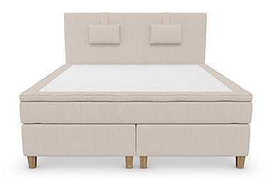 Komplett Sängpaket Roma Lyx 180 cm Beige/Ekben