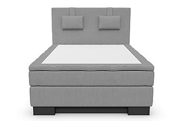 Komplett Sängpaket Romance Lyx 140 Grå Sv Sockel