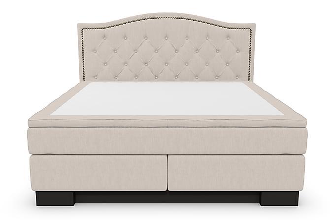 Komplett Sängpaket Romance Lyx 160x200 Cesaro Sänggavel Topp - Beige - Möbler - Sängar - Komplett sängpaket