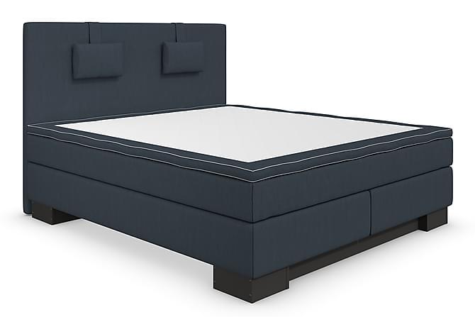 Komplett Sängpaket Romance Lyx 180 Mörkblå - Blå - Möbler - Sängar - Komplett sängpaket