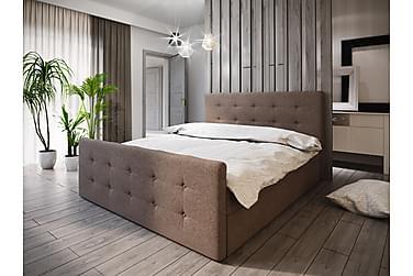Sängpaket Milano 160x200 Knappad Gavel