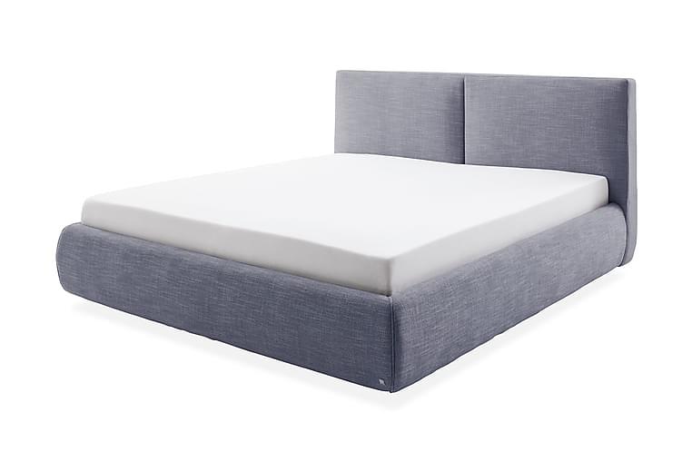 Sängpaket Panara med Förvaring 180x200 cm Toscana H2 - Blå - Möbler - Sängar - Komplett sängpaket