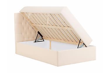 BOXBED Förvaringssäng 120 Beige