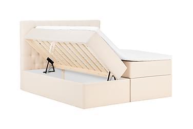 BOXBED Förvaringssäng 180 Beige