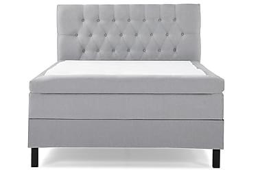 Komplett Sängpaket Olivia 120x200 Diamant Sänggavel Ljusgrå