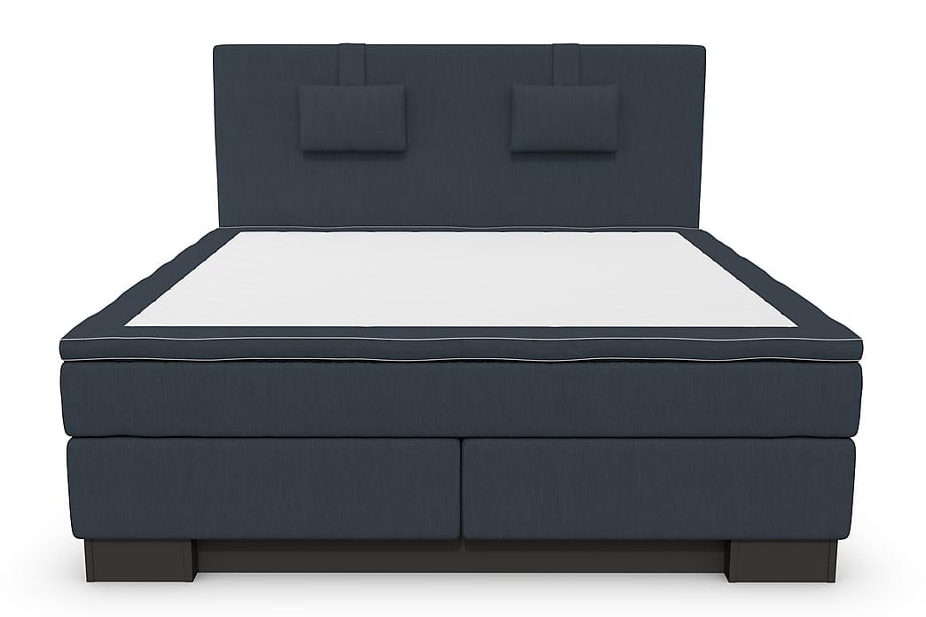 Komplett Sängpaket Romance Lyx 180 Mörkblå - Blå - Möbler - Sängar - Kontinentalsängar