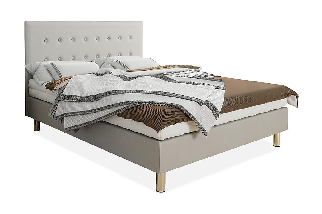 Kontinentalsäng Lux 120x204 cm - Beige - Möbler - Sängar - Kontinentalsängar