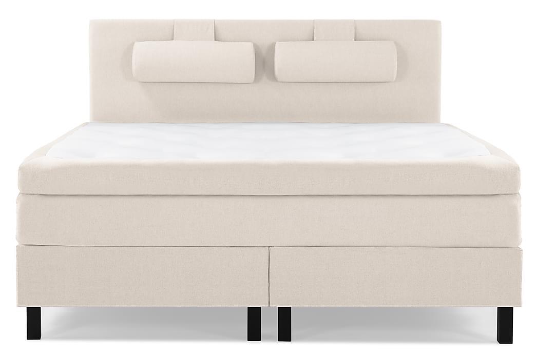 Kontinentalsäng Olivia 150x200 Polyeter - Beige - Möbler - Sängar - Kontinentalsängar