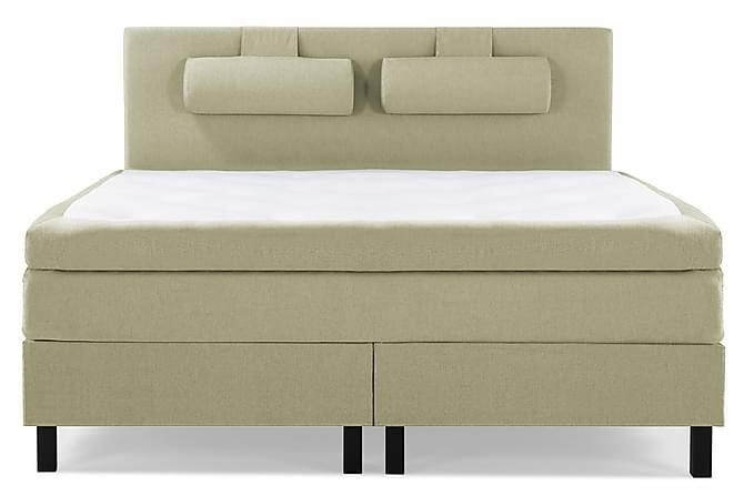 Kontinentalsäng Olivia 150x200 Polyeter - Grön - Möbler - Sängar - Kontinentalsängar