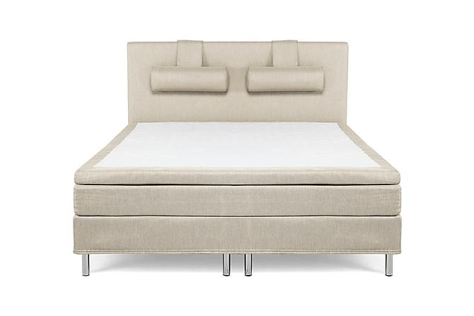 Kontinentalsäng Siesta 180 Beige - Beige - Möbler - Sängar - Kontinentalsängar