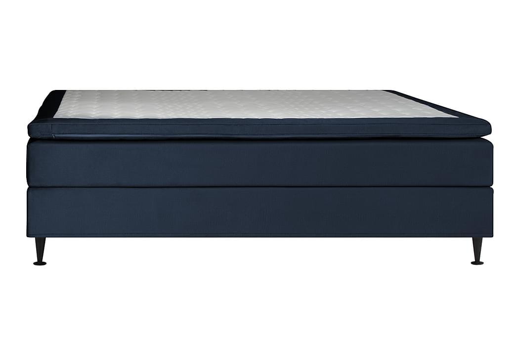 Pigge Extra Kontinentalsäng 160x200 - Mörkblå - Möbler - Sängar - Kontinentalsängar