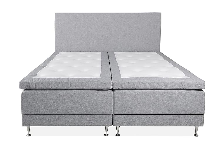 Sängpaket Almvik 180x200 cm - Ljusgrå/Fast - Möbler - Sängar - Kontinentalsängar