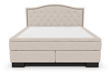 Sängpaket Romance Lyx 180 med Amiral Topp Sänggavel