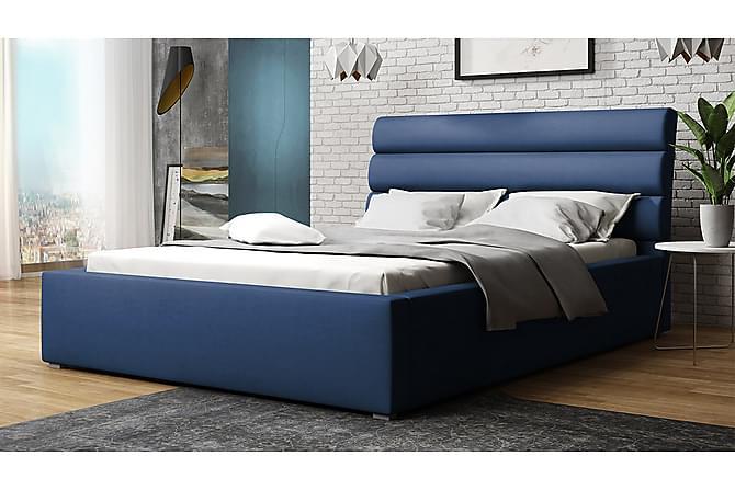 Ramsäng Moon 223x180x100 cm - Blå - Möbler - Sängar - Ramsäng & resårbotten