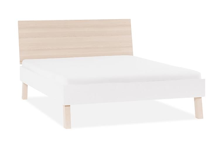 Sänggavel Spot 180x200 cm Trä/Natur/Vit - VOX - Möbler - Sängar - Ramsäng & resårbotten