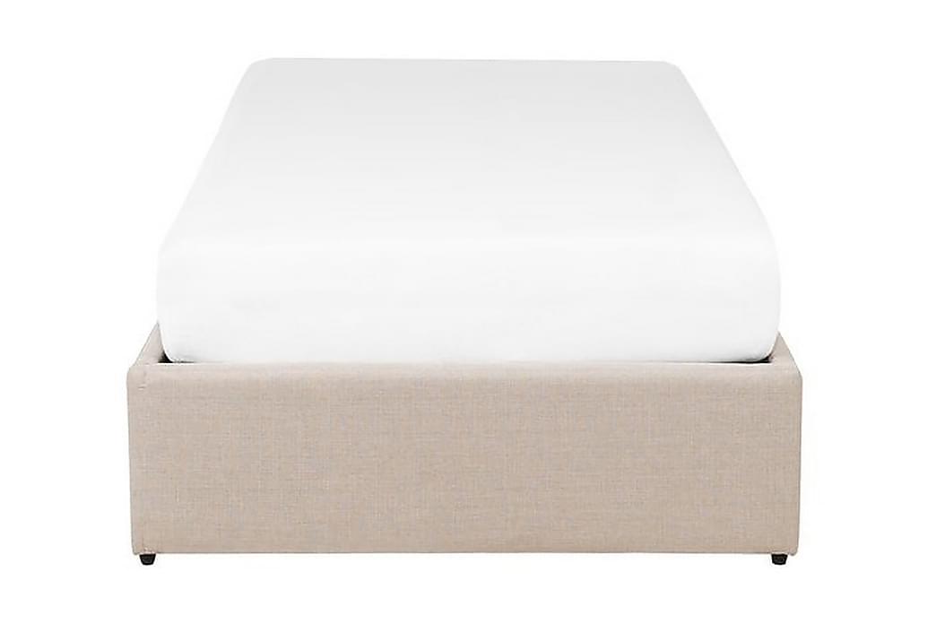 Sängram Dinan 90x200 cm - Beige - Möbler - Sängar - Ramsäng & resårbotten