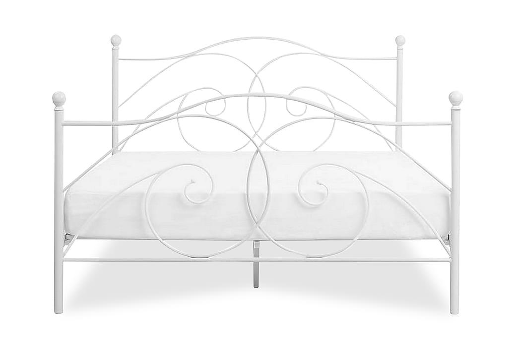 Sängram Dinard 160x200 cm - Vit - Möbler - Sängar - Ramsäng & resårbotten