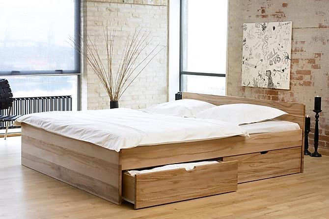 Sängram Mujo 180x210 - Ljust Trä - Möbler - Sängar - Sängram & sängstomme