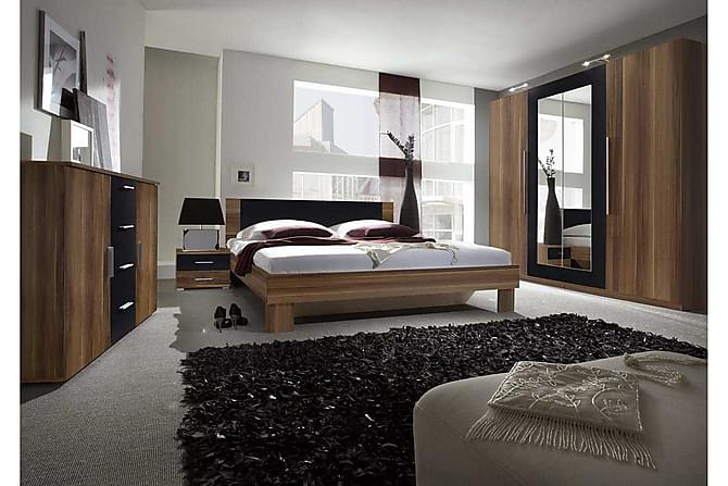 Sovrumsset Vera - Brun|Vit - Möbler - Sängar - Ramsäng & resårbotten