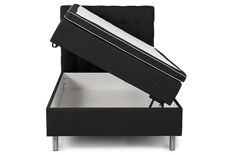 Box Bed Suset Mörkgrå - 140x200 - Möbler - Sängar - Sängar med förvaring