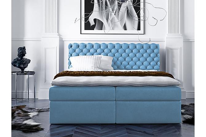 Kontinentalsäng Comes 180x200 - Blå - Möbler - Sängar - Sängar med förvaring