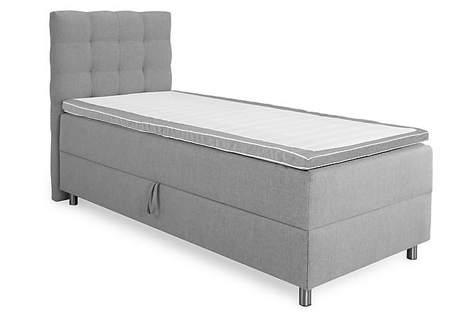 Komplett Sängpaket Suset Box Bed Ljusgrå - 90x200 - Möbler - Sängar - Komplett sängpaket