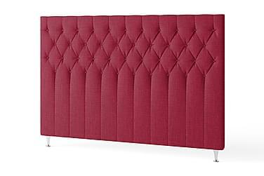Sänggavel 180 cm Quiltad Röd