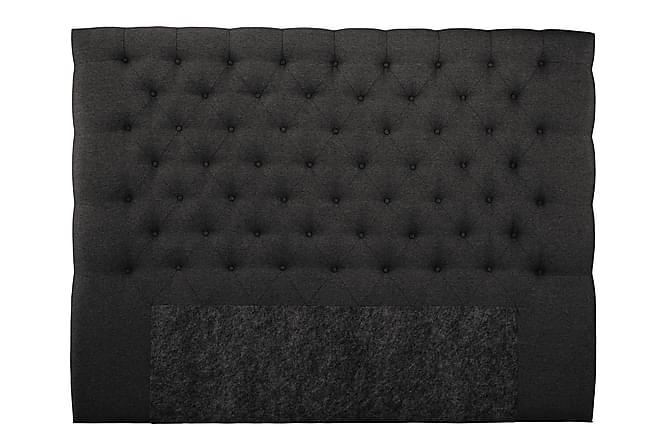 Sänggavel Boxford 210 cm Hög - Mörkgrå - Möbler - Sängar - Sänggavel