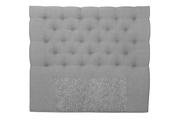 Sänggavel Boxford Ljusgrå