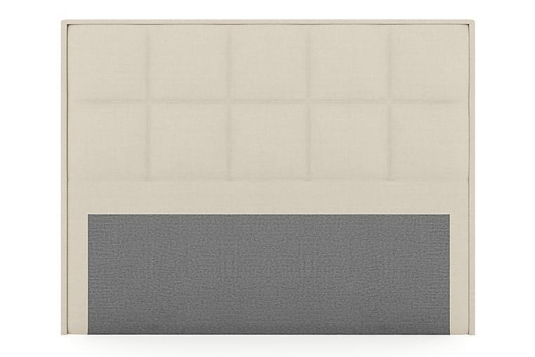 Sänggavel Choice 210 cm Rutig - Beige - Möbler - Sängar - Sänggavel