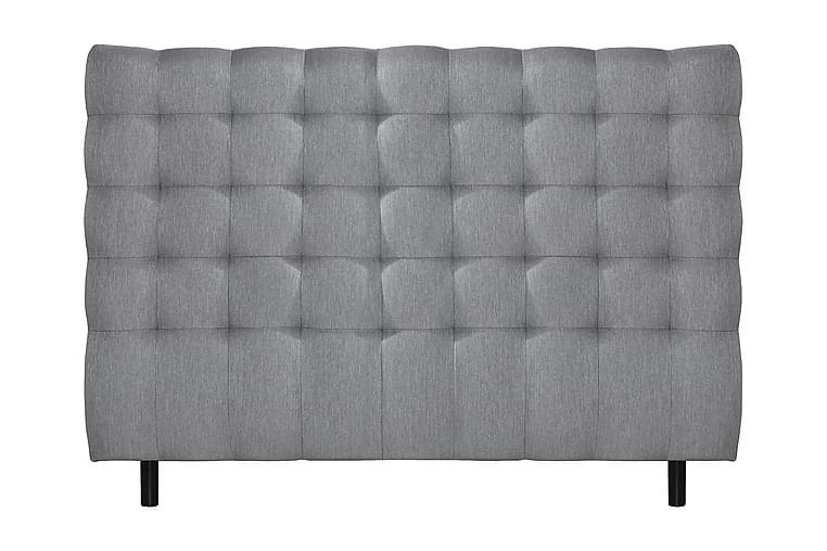 Sänggavel Lindvik 160x117 Square - Grå - Möbler - Sängar - Sänggavel