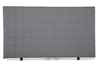 Sänggavel Quilted Edison 140 cm Ljusgrå