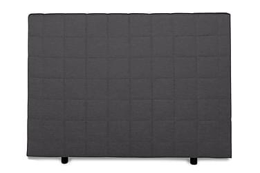 Sänggavel Quilted Edison 140 cm Mörkgrå