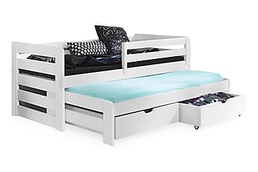 Säng Tilja 80x180 med Extrasäng och Förvaring